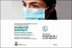 Crida ciutadania material sanitari