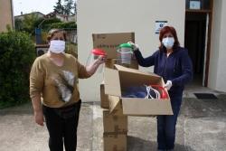 Serveis Socials ha rebut 105 pantalles protectores