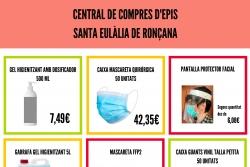 Central de compres d'EPIS