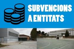 Subvencions a entitats culturals i esportives 2020