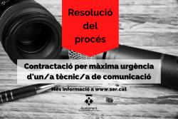 Resolució tècnic comunicació