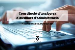 Convocatòria auxiliars d'administració