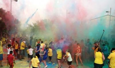 La Holi Party del 2014 amb tots els colors
