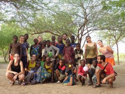 Visita a Blangoua