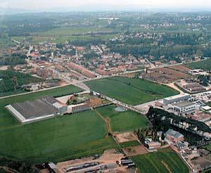 Vista aèria del municipi