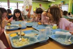 Menjador de l'escola La Sagrera
