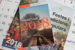 Anuari 2018 i calendari 2019