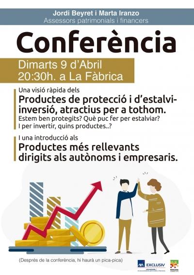 Conferència productes-inversió