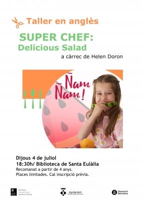 Super chef: delicious salad