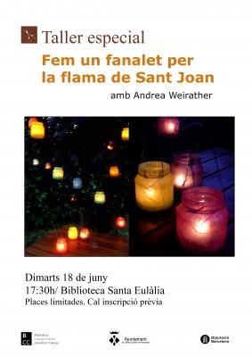 Fem un fanalet per la flama de Sant Joan