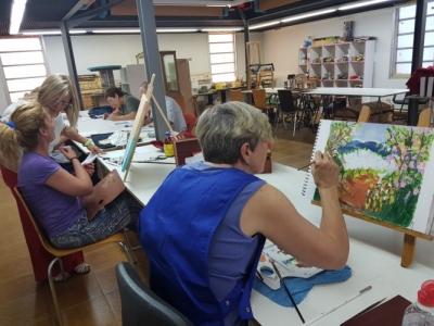 Cursos de dibuix i pintura de la Rosalina Oliva