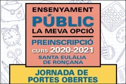Jornada de portes obertes curs 2020-2021